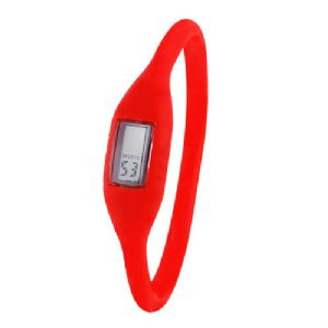 Ionic Power Watch - Red